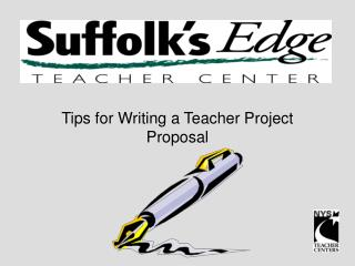 Tips for Writing a Teacher Project Proposal