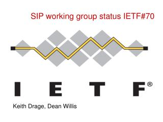 SIP working group status IETF#70