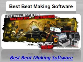 Best beat making software