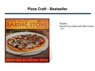 Pizza  Craft - Bestseller