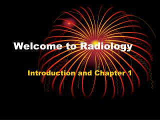 Welcome to Radiology