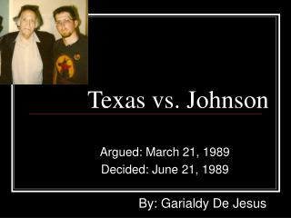 Texas vs. Johnson