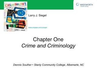 Chapter One Crime and Criminology