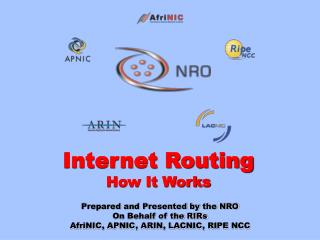 Internet Routing How It Works