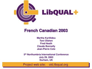 French Canadian 2003