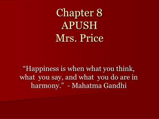 apush chapter 3 outline