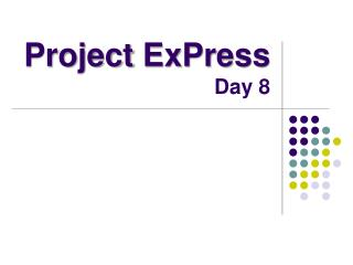 Project  ExPress Day 8