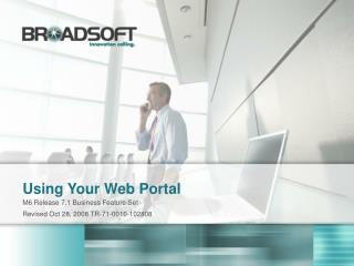 Using Your Web Portal