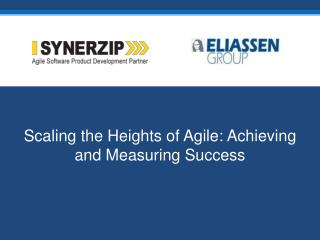 Scaling the Heights of Agile: Achieving and Measuring Success