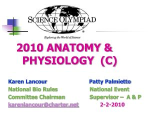 2010 ANATOMY & PHYSIOLOGY  (C)