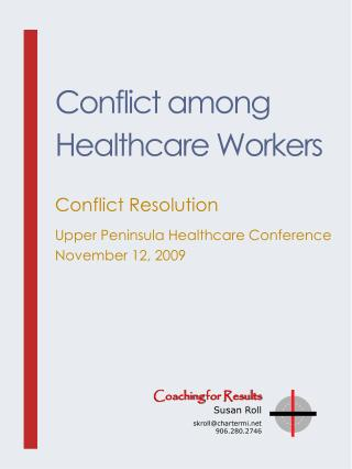 Conflict among Healthcare Workers