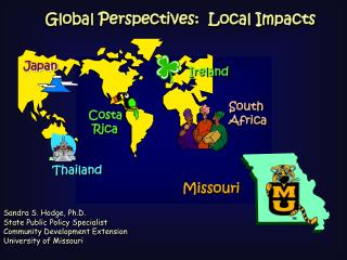 Global Perspectives:  Local Impacts