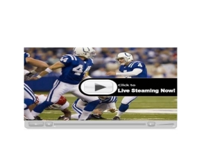 Watch San Diego Chargers vs Denver Broncos live streaming on