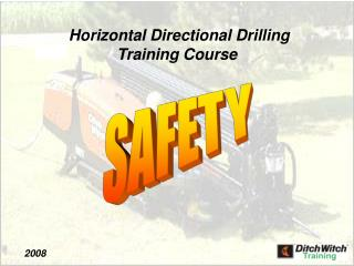 Horizontal Directional Drilling  Training Course