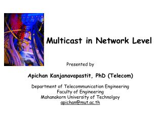 Multicast in Network Level