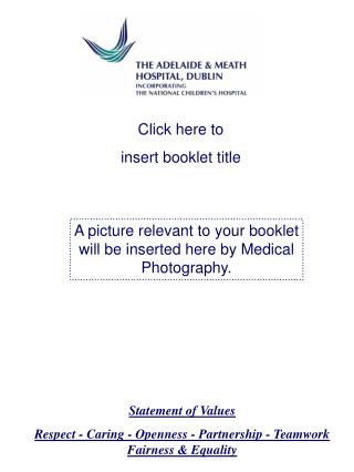 Click here to insert booklet title