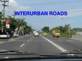 INTERURBAN ROADS