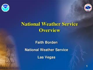National Weather Service Overview