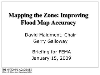 Mapping the Zone: Improving Flood Map Accuracy