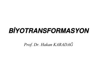 B İY OTRANSFORMA SY ON