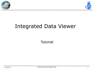 Integrated Data Viewer