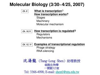 What is transcription ? How transcription works ?    Stages    Machinery    Molecular mechanism