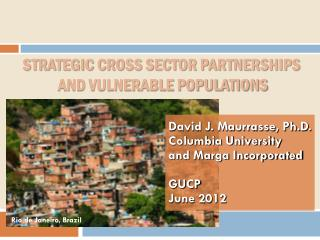 Strategic Cross Sector Partnerships  and Vulnerable Populations