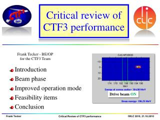 Critical review of CTF3 performance