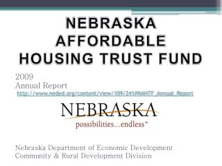 NEBRASKA AFFORDABLE HOUSING TRUST FUND