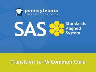 Transition to PA Common Core
