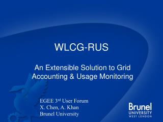 WLCG-RUS