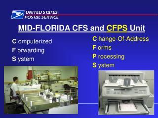 MID-FLORIDA CFS and CFPS Unit