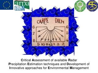 Starting Point PADRE DARTH May 1998 - Meeting at Teolo June 1999 - RANSHA Feb 2000 - RAINFLOOD