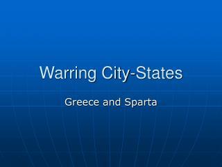 Warring City-States