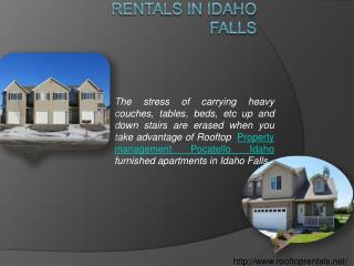 Property management Pocatello Idaho