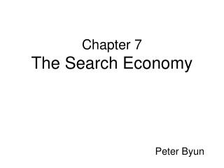 Chapter 7 The Search Economy