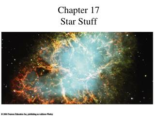 Chapter 17 Star Stuff