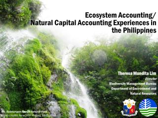 Ecosystem Accounting/ Natural Capital Accounting Experiences in the Philippines
