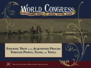 Strategic Messages From Congress to the Federal Acquisition Community