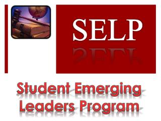 Student Emerging Leaders Program