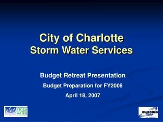 City of Charlotte Storm Water Services