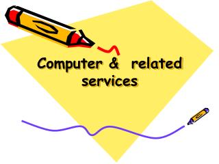 Computer &  related  services