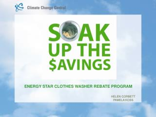ENERGY STAR CLOTHES WASHER REBATE PROGRAM
