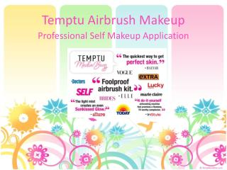 Temptu Airbrush Makeup A Gamechanger in Cosmetic Industry