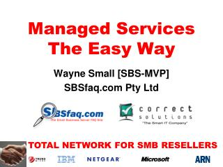 Managed Services The Easy Way