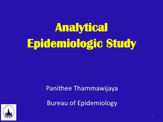 Analytical  Epidemiologic Study