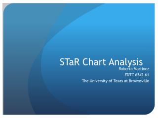 STaR  Chart Analysis