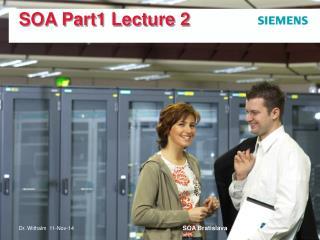 SOA Part1 Lecture 2