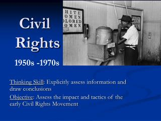 conclusion of civil rights movement