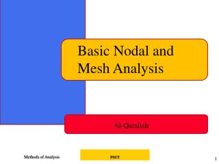 Basic Nodal and Mesh Analysis